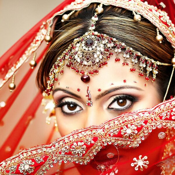 BRIDAL SERVICES WITH MAKEUP AND HAIR STYLE