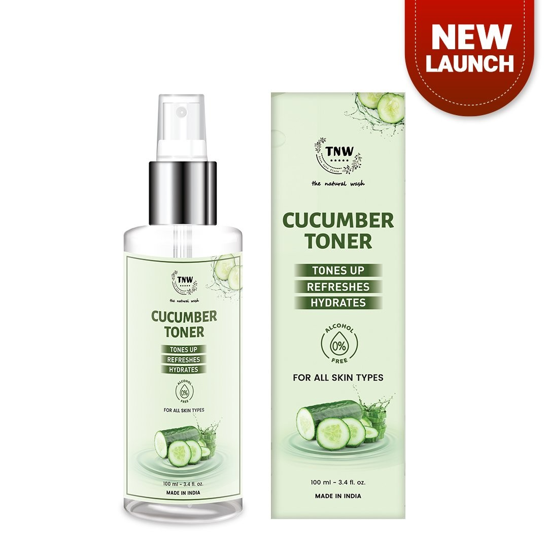 Pamper Yourself With A Sparkly Toner And A Natural Eye Cream!