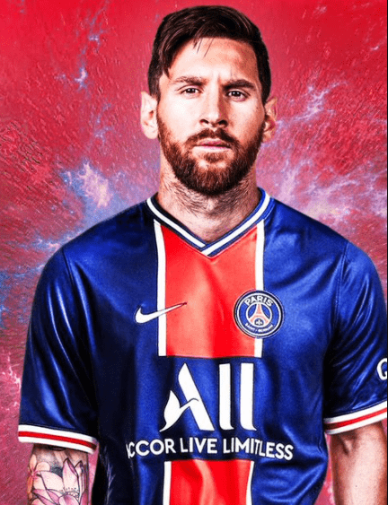 Messi join to PSG