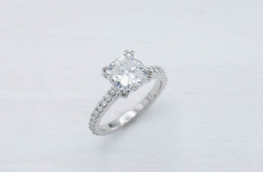 How to get the very best cushion cut diamond for your budget plan